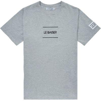 Caen T-shirt Regular | Caen T-shirt | Grå